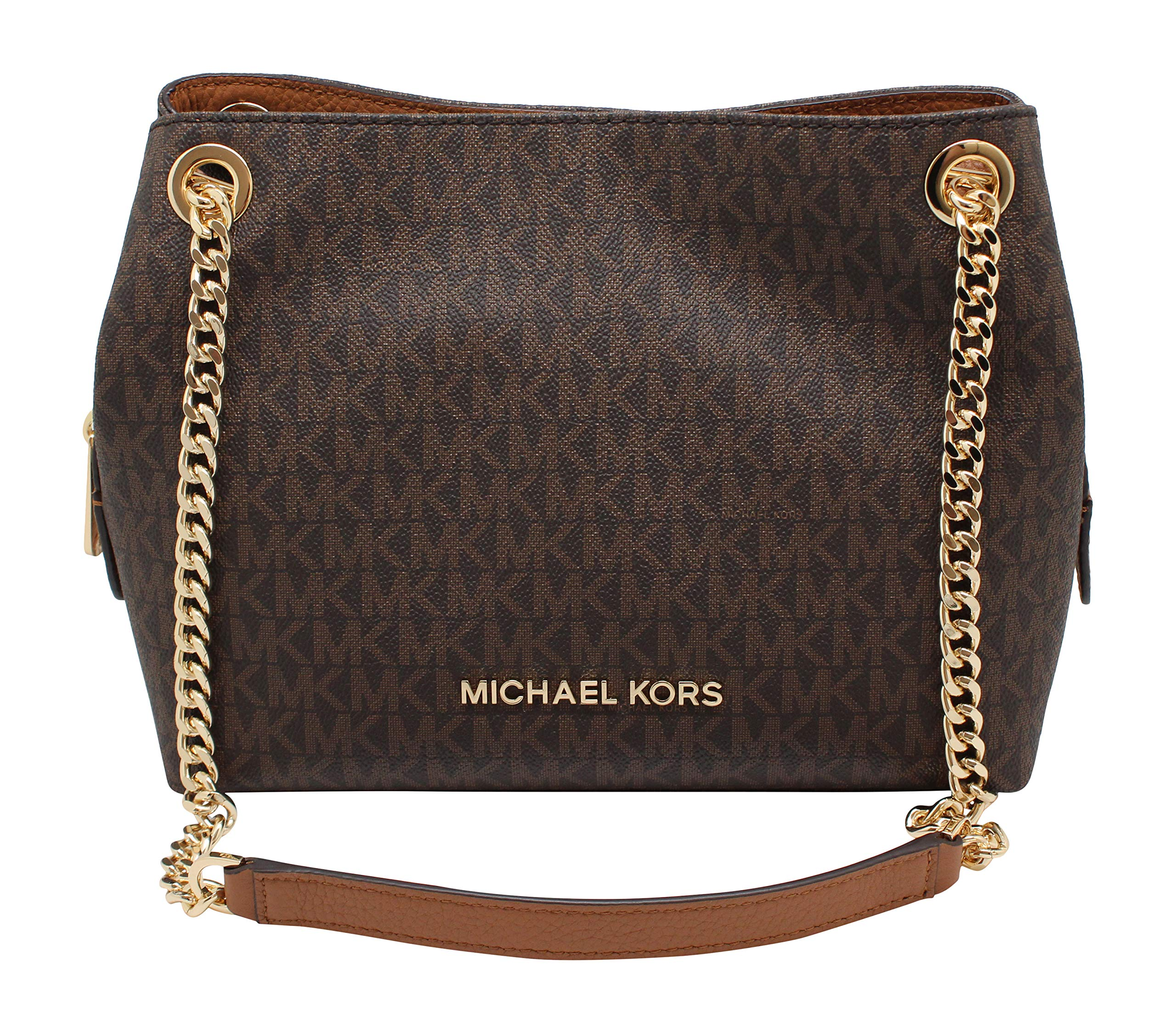 Michael Kors Medium Chain Messenger Signature Bag
